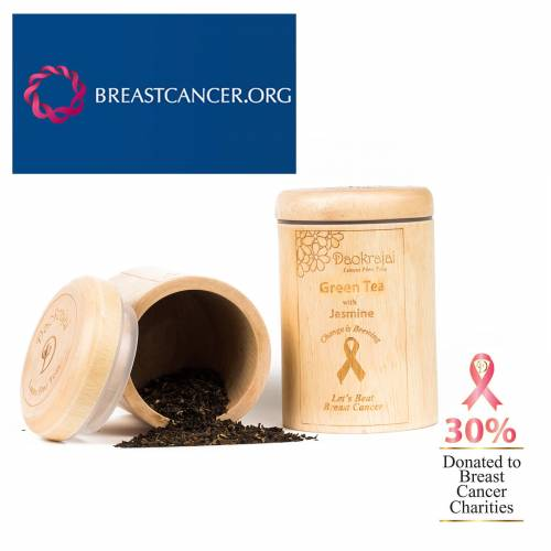 Green Tea with Jasmine BREASTCANCER.ORG Caddy
