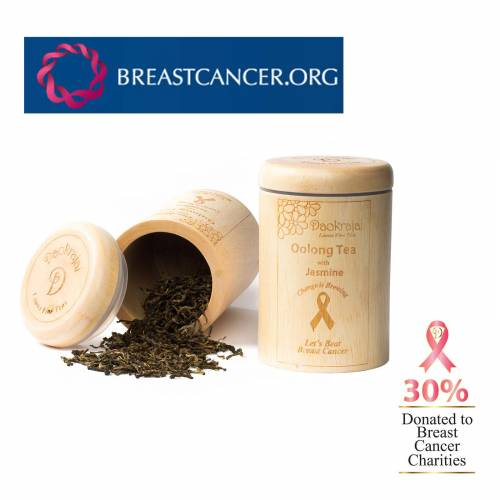 Oolong Tea Jasmine BREASTCANCER.ORG Caddy