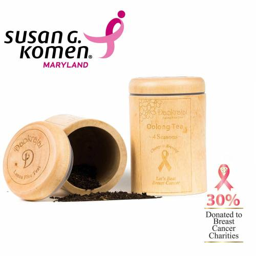 Oolong Tea 4 Seasons - supporting Susan G. Komen Maryland breast cancer charity