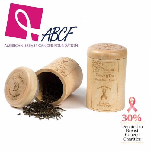 Oolong Tea Thea Kuan Imm supporting the American Breast Cancer Foundation