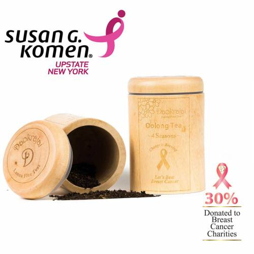 Oolong Tea 4 Seasons - supporting Susan G. Komen New York breast cancer charity