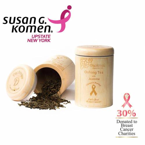 Oolong Tea Jasmine - supporting The Susan G. Komen New York breast cancer charity