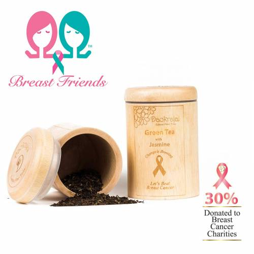 Green Tea Jasmine with Breast Friends