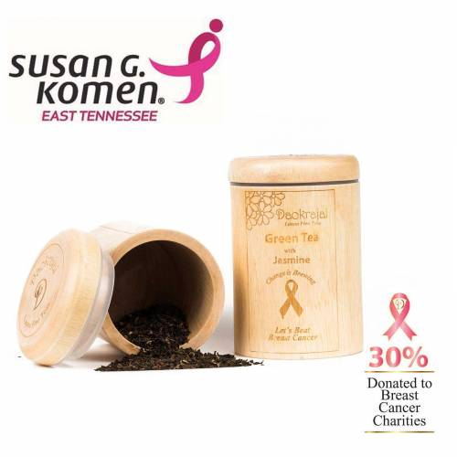 Green Tea with Jasmine supporting Susan G Komen East Tennessee