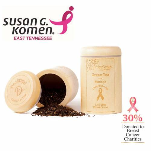 Green Tea with Moringa Caddy - Susan G. Komen East Tennessee