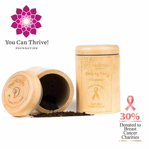 cancer charity You Can Thrive! - Oolong 4 Seasons Tea
