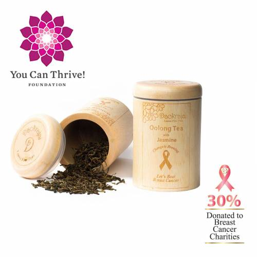 Breast cancer charity You Can Thrive! - Supported by Oolong Tea Jasmine